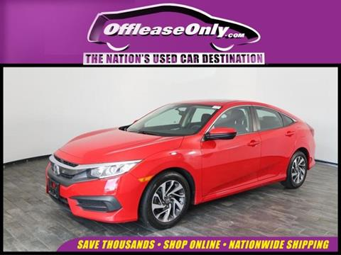 2016 Honda Civic for sale in North Lauderdale, FL
