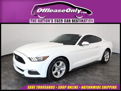 2017 Ford Mustang for sale in North Lauderdale, FL