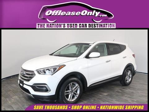 2018 Hyundai Santa Fe Sport for sale in North Lauderdale, FL