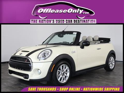 2016 MINI Convertible for sale in North Lauderdale, FL