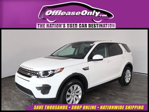 2016 Land Rover Discovery Sport for sale in North Lauderdale, FL