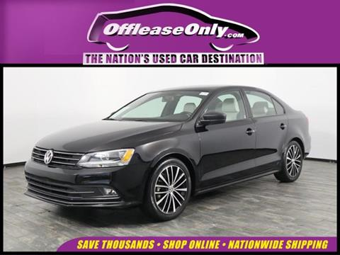 2016 Volkswagen Jetta for sale in North Lauderdale, FL