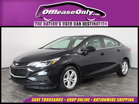 2017 Chevrolet Cruze for sale in North Lauderdale, FL