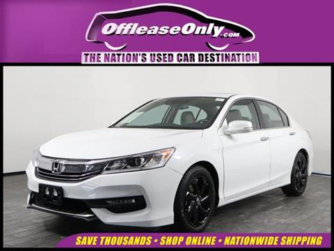 2016 Honda Accord for sale in North Lauderdale, FL