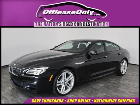 2016 BMW 6 Series for sale in North Lauderdale, FL