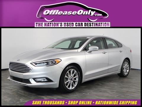 2017 Ford Fusion for sale in North Lauderdale, FL