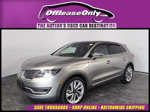 2016 Lincoln MKX for sale in North Lauderdale, FL