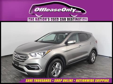 2017 Hyundai Santa Fe Sport for sale in North Lauderdale, FL