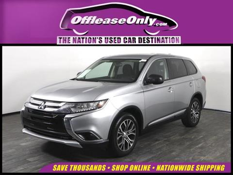 2018 Mitsubishi Outlander for sale in North Lauderdale, FL