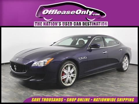 2016 Maserati Quattroporte for sale in North Lauderdale, FL