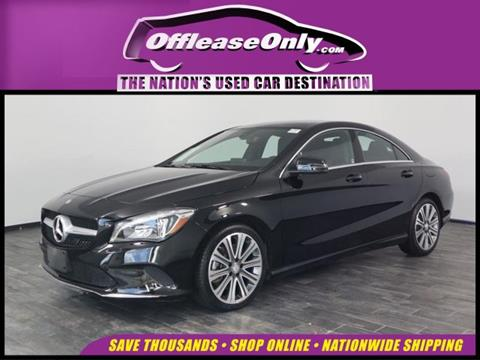 2018 Mercedes-Benz CLA for sale in North Lauderdale, FL