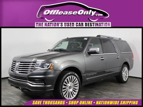 2016 Lincoln Navigator L for sale in North Lauderdale, FL