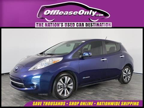 2016 Nissan LEAF for sale in North Lauderdale, FL