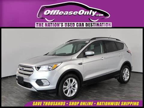 2018 Ford Escape for sale in North Lauderdale, FL