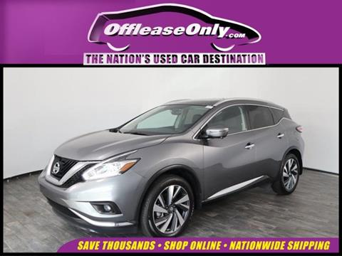 2018 Nissan Murano for sale in North Lauderdale, FL
