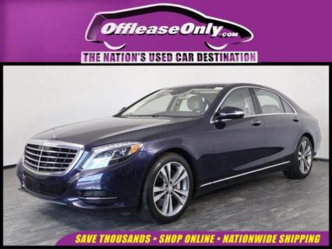 2016 Mercedes-Benz S-Class for sale in North Lauderdale, FL