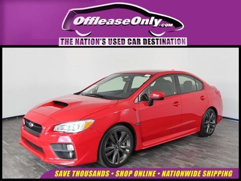 2016 Subaru WRX for sale in North Lauderdale, FL