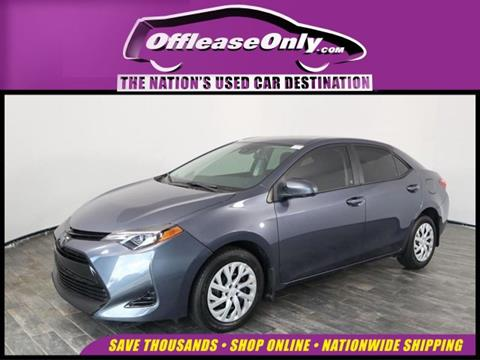 2017 Toyota Corolla for sale in North Lauderdale, FL