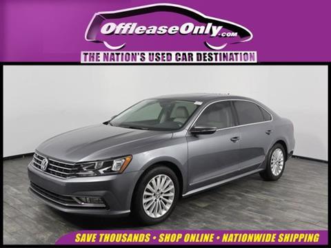 2016 Volkswagen Passat for sale in North Lauderdale, FL