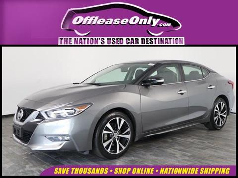 2018 Nissan Maxima for sale in North Lauderdale, FL