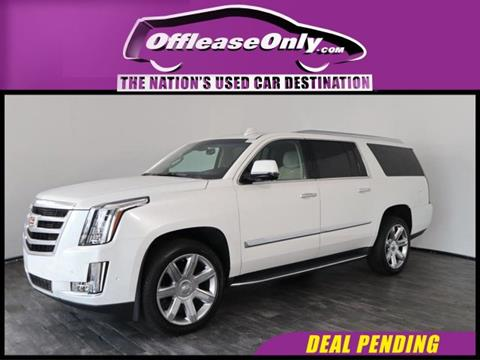 2019 Cadillac Escalade ESV for sale in North Lauderdale, FL