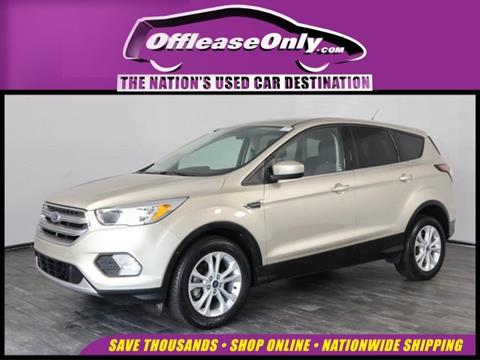 2017 Ford Escape for sale in North Lauderdale, FL