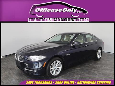 2016 BMW 5 Series for sale in North Lauderdale, FL