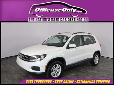 2017 Volkswagen Tiguan for sale in North Lauderdale, FL