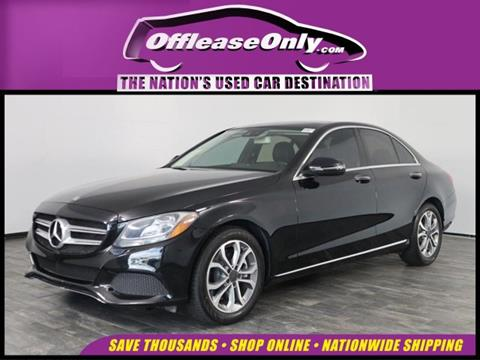 2017 Mercedes-Benz C-Class for sale in North Lauderdale, FL