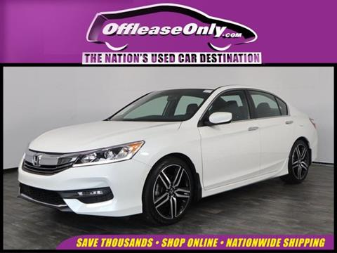 2017 Honda Accord for sale in North Lauderdale, FL