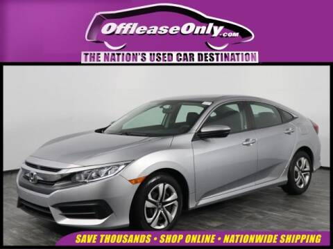 2017 Honda Civic LX for sale at OffLeaseOnly.com The Nation's Used Car Destination in North Lauderdale FL