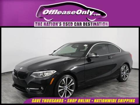 2017 BMW 2 Series 230i for sale at OffLeaseOnly.com The Nation's Used Car Destination in North Lauderdale FL
