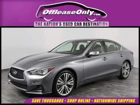 2018 Infiniti Q50 for sale at OffLeaseOnly.com The Nation's Used Car Destination in North Lauderdale FL