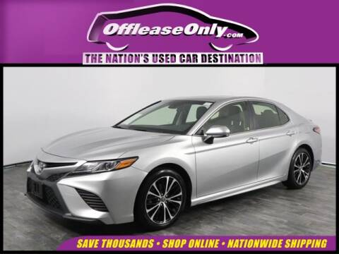 2018 Toyota Camry for sale at OffLeaseOnly.com The Nation's Used Car Destination in North Lauderdale FL