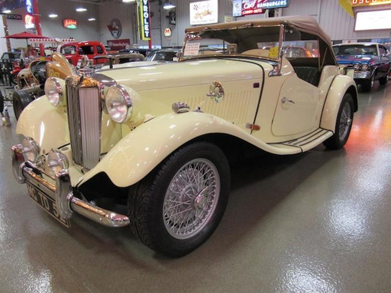 1952 MG TD 4