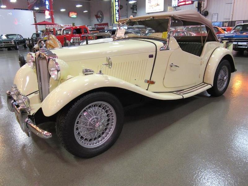 1952 MG TD 8