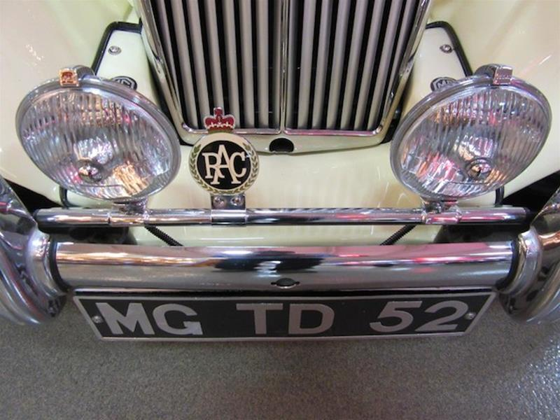1952 MG TD 26
