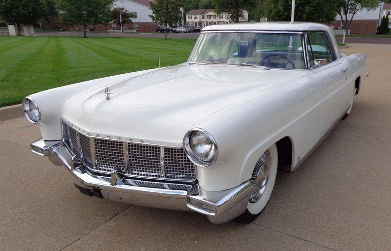 1956 Lincoln Continental for sale at WEST PORT AUTO CENTER INC in Fenton MO