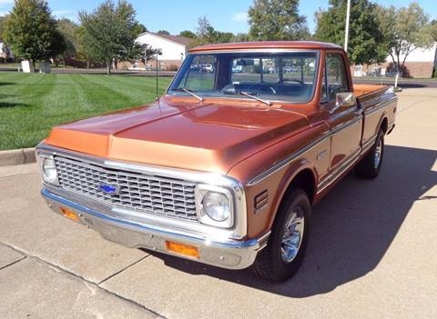 1972 Chevrolet C/K 10 Series for sale at WEST PORT AUTO CENTER INC in Fenton MO