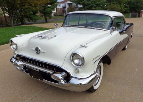 1955 Oldsmobile Ninety-Eight for sale at WEST PORT AUTO CENTER INC in Fenton MO
