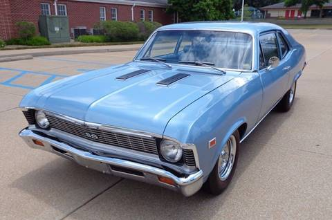 1969 Chevrolet Nova for sale at WEST PORT AUTO CENTER INC in Fenton MO