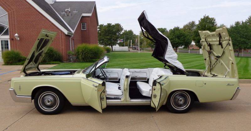 Superior 1966 Lincoln Continental Suicide Doors Retractile Convertible   Fenton MO