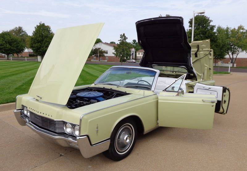 Contact ... & 1966 Lincoln Continental Suicide Doors Retractile Convertible In ...