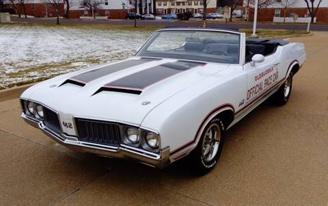 1970 Oldsmobile 442 for sale at WEST PORT AUTO CENTER INC in Fenton MO