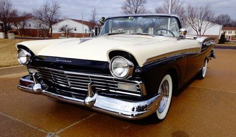 1957 Ford Fairlane for sale at WEST PORT AUTO CENTER INC in Fenton MO
