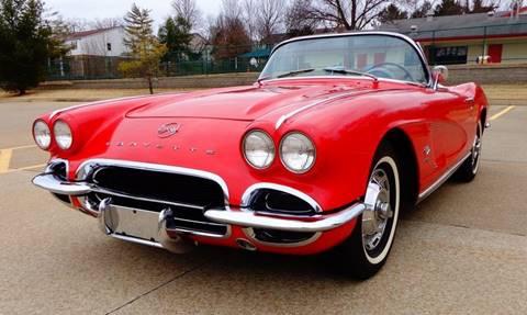 1962 Chevrolet Corvette for sale at WEST PORT AUTO CENTER INC in Fenton MO