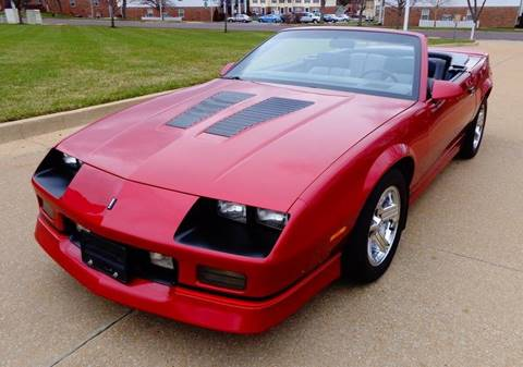 1988 Chevrolet Camaro for sale at WEST PORT AUTO CENTER INC in Fenton MO
