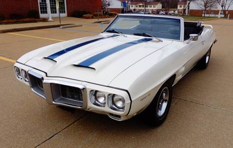 1969 Pontiac Trans Am for sale at WEST PORT AUTO CENTER INC in Fenton MO