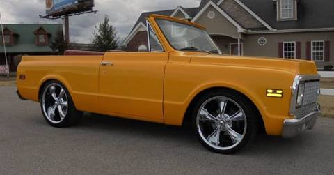 1972 Chevrolet Blazer for sale at WEST PORT AUTO CENTER INC in Fenton MO