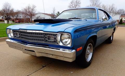 1973 Plymouth Duster for sale at WEST PORT AUTO CENTER INC in Fenton MO